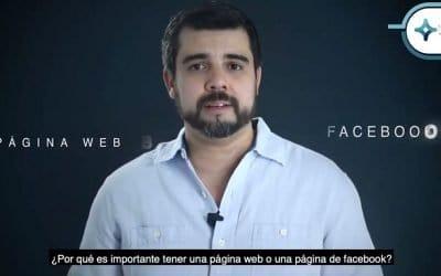 Página Web y Facebook